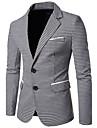 Bărbați Rever Peaked Blazer Muncă Simplu,Houndstooth Manșon Lung Toamnă-Regular Bumbac