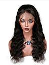 Äkta hår Spetsfront Peruk Lockigt Vågigt 130% Densitet Skrivstil 100 % handbundet Afro-amerikansk peruk Naturlig hårlinje Kan användas