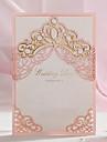 Șal & Buzunar Invitatii de nunta 50-Invitații Stil Clasic Hârtie Reliefată