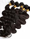 Brasilianskt hår Kroppsvågor Hårförlängning av äkta hår 5 delar Heta Försäljning Human Hår vävar