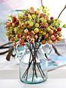 Flori artificiale 5 ramură Stil European Plante Față de masă flori