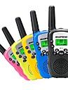 O pereche de copii portabili copii 3km baofeng bf-t3 cb radio pentru stația de radio frecvență uhf șuncă radio cu două căi mic mini walkie