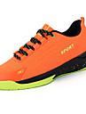 Bărbați Pantofi Plasă de Aerisire PU Primăvară Toamnă Confortabili Tălpi cu Lumini Adidași de Atletism Dantelă Pentru De Atletism Casual
