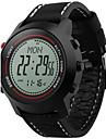 Bărbați Ceas digital Piloane de Menținut CarneaAltimeter Compass Termometre Calendar Cronograf Rezistent la Apă Zone Duale de Timp