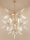 Ljuskronor Glödande - Ministil, Artistisk Chic och modern, 200-240V 110-120V Glödlampa inte inkluderad
