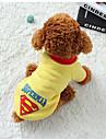 Hund Väst Hundkläder Varm Ledigt/vardag Geometrisk Svart Grå Gul Blå Kostym För husdjur