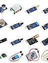 diy 16 i 1 sensor modul kit til hindbær pi