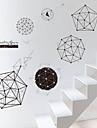 Forme Perete Postituri Autocolante perete plane Autocolante de Perete Decorative Material Pagina de decorare de perete Decal