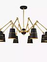 Rustic/ Cabană LED Șic & Modern Lumini pandantiv Pentru La Interior Dormitor Cameră de studiu/Birou AC 220-240 AC 110-120V Bec Inclus