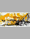Pictat manual Abstract Orizontal,Abstract Un Panou Canava Hang-pictate pictură în ulei For Pagina de decorare