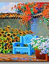 grădină 100% pictate manual picturile contemporane de ulei artă modernă de artă de perete pentru decorarea camerei