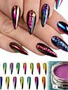 Glitter Tillbehör Puder Gör-det-själv-produkter 3D Spegel Klassisk Hög kvalitet Dagligen Nail Art Design