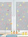 Copaci/Frunze Autocolant Geam, PVC a vinyl Material fereastra de decorare Living Camera de baie Shop / Cafenea Bucătărie