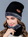 Damă Solid Toamnă Iarnă Veșminte de cap Amestecuri Bumbac Bumbac/nailon cu puțină întindere Wool & Polyester Blended,Beanie/Slouchy