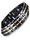 Bărbați Brățări cu Lanț & Legături Brățări Bangle Mai multe pietre Natură La modă Oțel titan Circle Shape Bijuterii Bijuterii Pentru