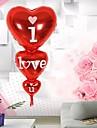 folie balon formă de inimă te iubesc ziua de naștere aniversare heliu decor