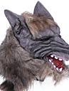 Masques d\'Halloween Gadget pour Blague Pour Halloween Masques de Carnaval Masque d\'Animal Nouveaute Tete de Loup Horreur Latex Caoutchouc