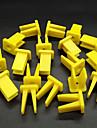 ziqiao 100st modifierad fastklämma självtankning skruvhållare automatisk strålkastare för universellt fordon