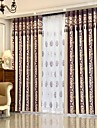 Rod Pocket Grommet Top Tab Top Double Pleat Pencil Pleat Curtain European, Yarn Dyed Stripe Bedroom Material Curtains Drapes Home