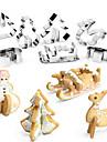 Cake Moulds för Pizza Kakor Tårta för frukt Kaka Rostfritt Stål + A Klass ABS Rostfri Barn GDS (Gör det själv) Fastnar ej Multifunktion