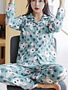 Pentru femei Costume Pijamale - Imprimeu, Animal