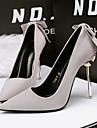 Damă Pantofi Lână Primăvară Toamnă Balerini Basic Tocuri Toc Stilat pentru Casual Party & Seară Negru Gri Rosu Kaki