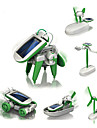 6 IN 1 Robot Juguetes de energia solar Aeronave Molino Barco Alimentado por Energia Solar Manualidades Educacion Ninos Juguet Regalo 1 pcs