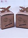 Creativo Cuboidi Carta Raso Porta-bomboniera con A fantasia Bomboniere scatole