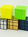 Rubiks kub QIYI 154 Spegelkub 3*3*3 Mjuk hastighetskub Magiska kuber Pusselkub Fyrkantig Present Unisex