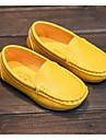Fete Pantofi Imitație de Piele Primăvară Toamnă Confortabili Mocasini & Balerini Pentru Casual Alb Negru Galben Albastru Roz
