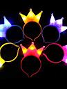 1pcs ljuskrona xmas ledde ljushuvud för festpennband barn gåva ramdon färg