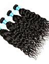 Peruanskt hår Vattenvågor Hårförlängning av äkta hår 4 delar Human Hår vävar