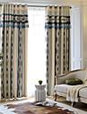 Tratamentul fereastră European , Dungi Dormitor Material perdele, draperii Pagina de decorare For Fereastră