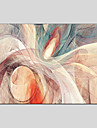 Pictat manual Abstract Abstract Un Panou Canava Hang-pictate pictură în ulei For Pagina de decorare