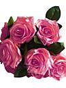 1 1 ramură Poliester / Plastic Trandafiri Față de masă flori Flori artificiale 17.7inch/45cm