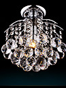 Montaj Flush Lumină Spot - Cristal, Bec Inclus, 110-120V / 220-240V, Alb Cald / Alb Rece, Bec Inclus / 5-10㎡ / E26 / E27