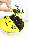 RC Drone FQ777 FQ04 4 canaux 6 Axes 2.4G Avec Camera HD 0.3MP 0.3 Quadri rotor RC Lampe LED / Mode Sans Tete Quadri rotor RC /