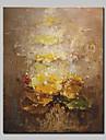 Pictat manual Abstract Vertical, Simplu Modern pânză Hang-pictate pictură în ulei Pagina de decorare Un Panou