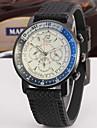 Jaragar Bărbați Ceas Casual Ceas La Modă Ceas Elegant  Ceas de Mână Mecanism automat Cauciuc Bandă Casual Cool
