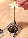 Dop Portabil Ecologic Siguranță Novelty Lavabil Boutique Plastice Teak 1 buc - Curăţare accesorii de duș