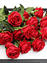Konstgjorda blommor 5 Gren Bröllop / Europeisk Stil Roser Bordsblomma