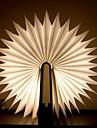 1 buc Carte LED-uri de lumină de noapte Alb Cald Baterii alimentate Pliabil Reîncărcabil Creativitate Lumina decorativă