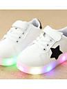 Băieți Pantofi PU Primăvară Toamnă Confortabili Adidași Pentru Casual Alb Negru Verde Roz