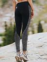 Pentru femei Dantelă Împletit Legging - Bloc Culoare Talie medie