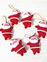 6pcs Crăciun Ornamente de crăciunforDecoratiuni de vacanta,0.032
