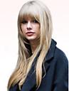 Human Hair Capless Wigs Human Hair Straight Long Machine Made Wig Women\'s