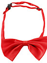 Chat Chien Cravate / Noeud Papillon Vetements pour Chien Noeud papillon Rouge Bleu Rose Coton Costume Pour Printemps & Automne Ete Homme Femme Mariage