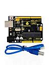 1pcs keystudio one r3 board (original chip) 1stk usb kabel kompatibel 100% kompatibel för arduino uno r3