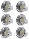 6pcs 5W 400lm GU10 Spot LED 1 Perles LED COB Intensite Reglable Lampe LED Blanc Chaud Blanc Froid 110-130V 220-240V