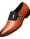Bărbați Pantofi Piele Primăvară Toamnă Confortabili Mocasini & Balerini pentru Birou și carieră Party & Seară Negru Maro Închis